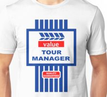 Value Range Tour Manager Unisex T-Shirt