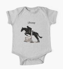 Cute iJump Equestrian Horse T-Shirt and Hoodies One Piece - Short Sleeve