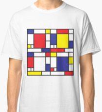 Mondrian Study I Classic T-Shirt