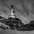 The Lighthouse by Danielle  Miner