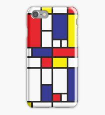 Mondrian Study I iPhone Case/Skin