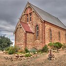 St Carthage Catholic Church, Silverton, NSW by Adrian Paul