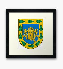 Coat of Arms of Mexico City Framed Print