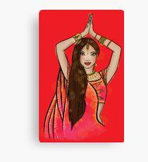 Bollywood Boogie Canvas Print