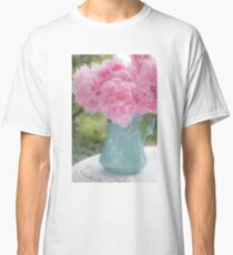 Pitcher of Peonies Classic T-Shirt