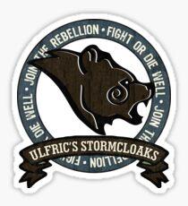Join the Stormcloak Rebellion Sticker