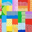 PATCHWORK CARPET ARTWORK by RainbowArt
