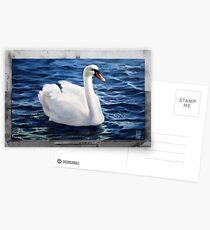 The Swan Postkarten