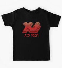 X-S Tech Corporate Logo Kids Tee