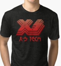 X-S Tech Corporate Logo Tri-blend T-Shirt
