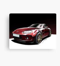 Mazda MX5 Canvas Print