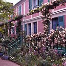 Roses, Claude Monet's Home, Giverny, France. by johnrf
