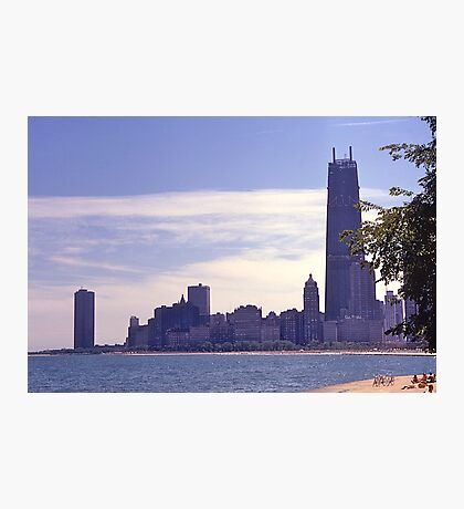 Chicago waterfront in 1968. Photographic Print