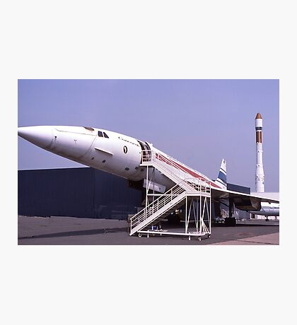Concorde grounded. France.  Photographic Print