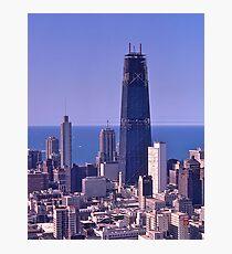 Chicago Skyline, 1968, John Hancock Centre. Photographic Print