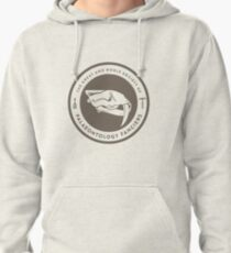 The Society of Palaeontology Fanciers (Brown on White) Pullover Hoodie