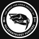 The Society of Palaeontology Fanciers (White on Dark) by David Orr
