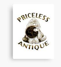 Priceless Antique Penny Canvas Print