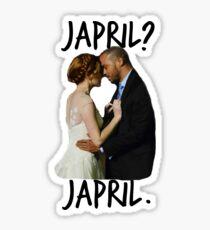 Japril? Japril. Sticker