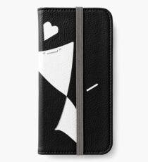 Screen Protector Love - Sketch iPhone Wallet