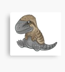 Tyrannosaurus Chick Canvas Print