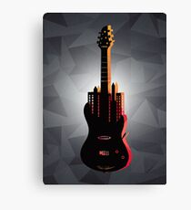music nyc  Canvas Print