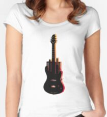 music nyc  Women's Fitted Scoop T-Shirt