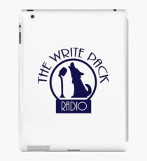 Write Pack Radio Blue Logo iPad Case/Skin