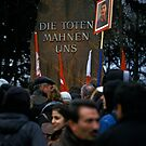 Luxemburg-Liebknecht Demo, Berlin 2014 by Michel Meijer