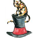 Cat on the Hat by Nicholas  Beckett