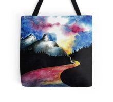 Galaxy Road Tote Bag