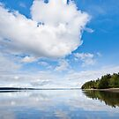 Clouds Reflected in Puget Sound by Jeff Goulden