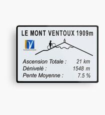 Mont Ventoux Cycling Metal Print