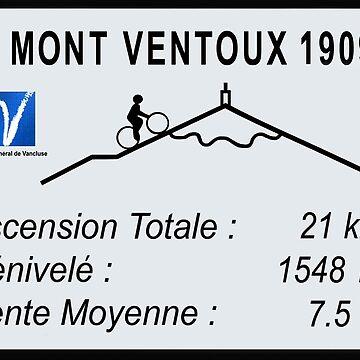 Mont Ventoux Radfahren von BeyondEvolved