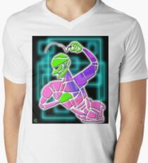 Figure with Beads Men's V-Neck T-Shirt
