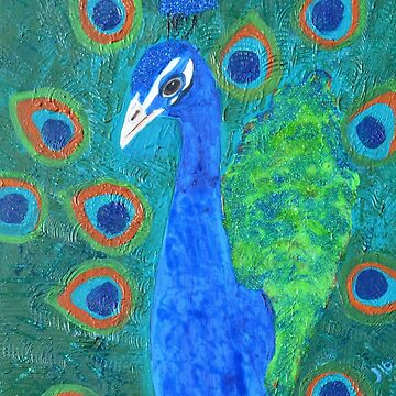 Phenacite the Peacock : original artwork by ashroc