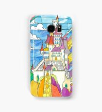 Beauty and the Beast Castle Samsung Galaxy Case/Skin