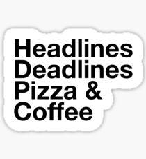 Journalism Sticker
