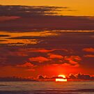 Sunset Over the Pacific Ocean by Jeff Goulden