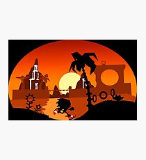 Sunset Hill Zone Photographic Print