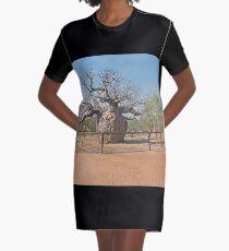 Boab Prison Tree Graphic T-Shirt Dress