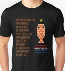 Netherlands 1988 Euro Winners Unisex T-Shirt