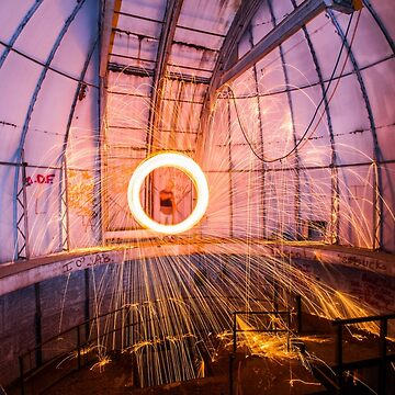 Abandoned Observatory Steel Wool by dannypics