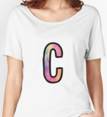 Letter C Women's Relaxed Fit T-Shirt