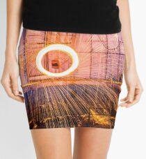 Abandoned Observatory Steel Wool Mini Skirt