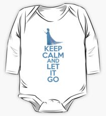 Keep Calm and Let It Go One Piece - Long Sleeve