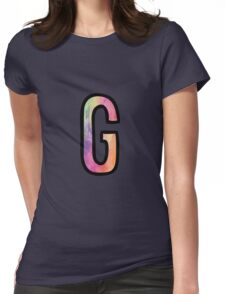 Letter G Womens Fitted T-Shirt