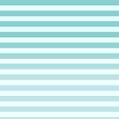 Blue Ombre Stripes by thetangofox
