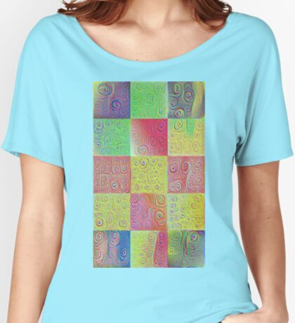 #DeepDreamed factures Relaxed Fit T-Shirt