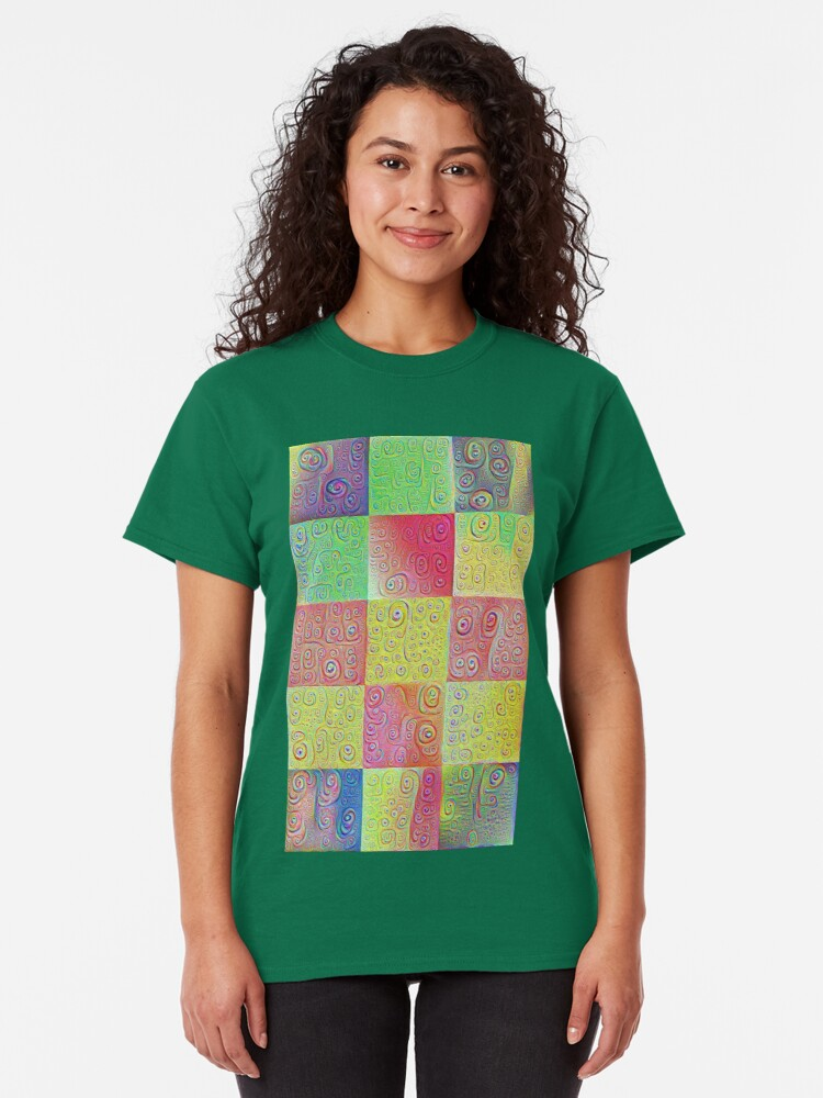 Alternate view of #DeepDreamed factures Classic T-Shirt